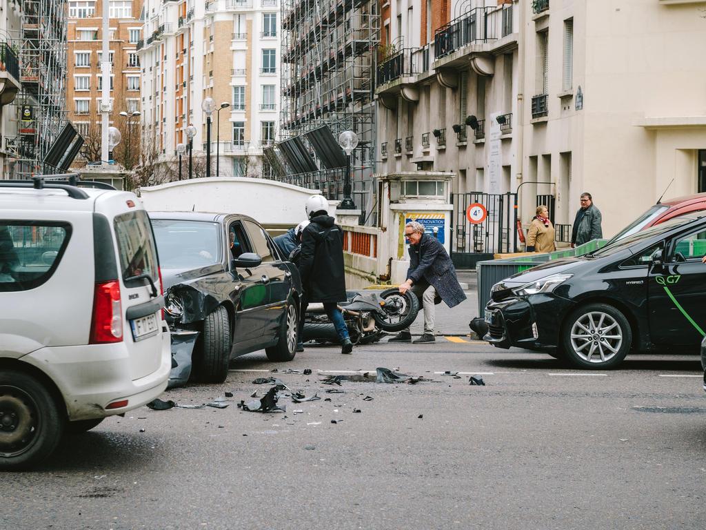 ¿Qué no cubre el seguro en una colisión múltiple?