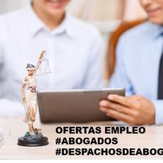 ofertas de empleo #abogados #despachosdeabogados (actualizado 20/1/2019)