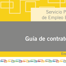 El SEPE publica su guía de contratos actualizada tras la reforma de diciembre 2018 #PDF