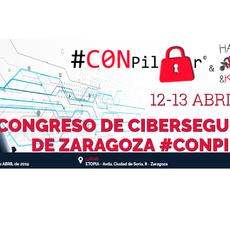 Expertos de primer nivel participan en el Congreso anual de Ciberseguridad de Zaragoza CONPilar 2019