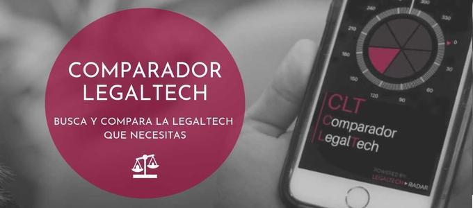 Se presenta el COMPARADOR-LEGALTECH, que permite buscar y comparar entre casi 300 herramientas