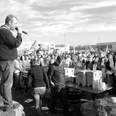 Huelga ilegal por abusiva al convocarse por cinco sindicatos diferentes y constituirse cinco comités de huelga