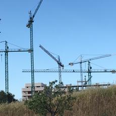 Los trabajadores en construcción rozan los 1,3 millones tras crecer un 5% en el último año