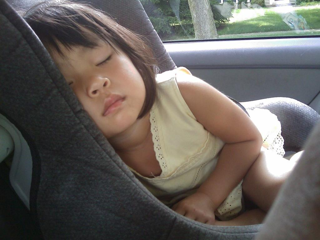 El uso del cinturón de seguridad y los sistemas de retención infantil