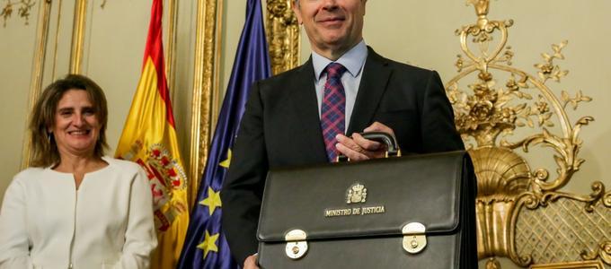 """Juan Carlos Campo llama a sumar esfuerzos"""" para un pacto de Estado por la Justicia"""