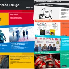 LaLiga repasa el Reglamento General de Protección de Datos en el Fútbol en el nuevo número de la Revista Jurídica LaLiga