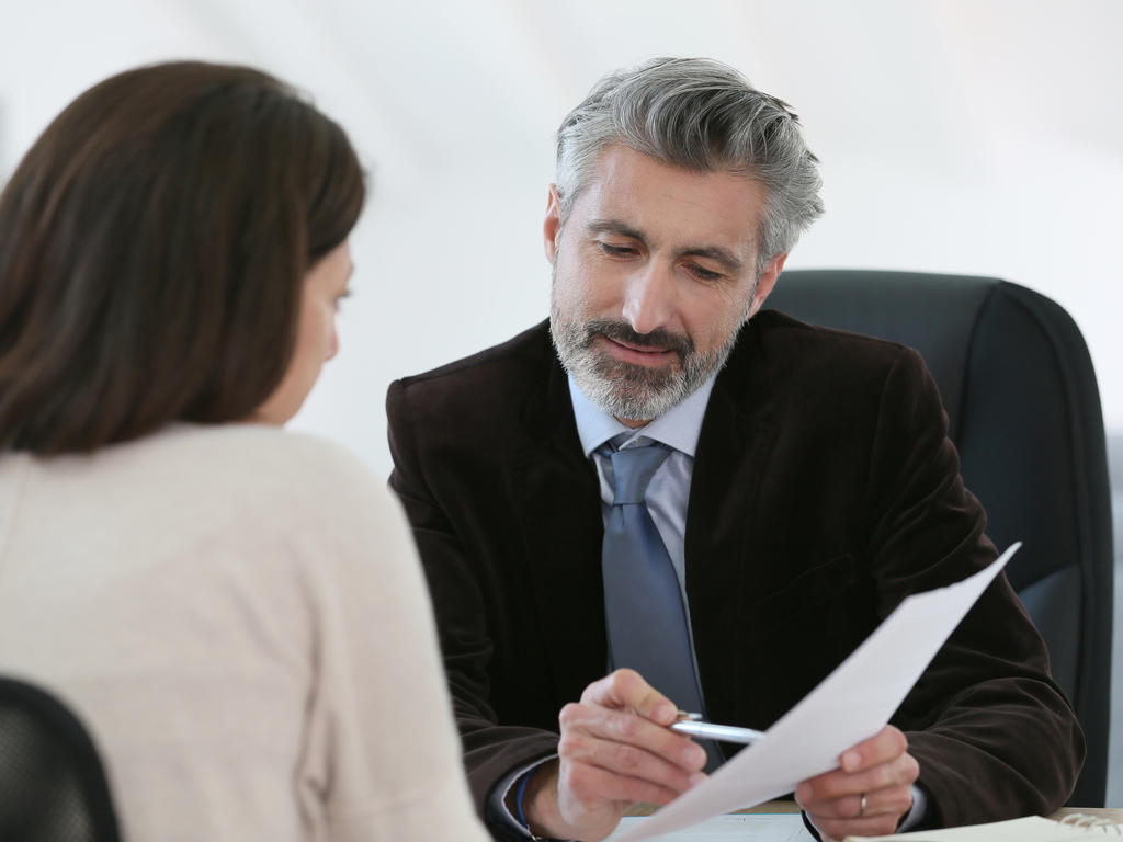La confianza del cliente del abogado