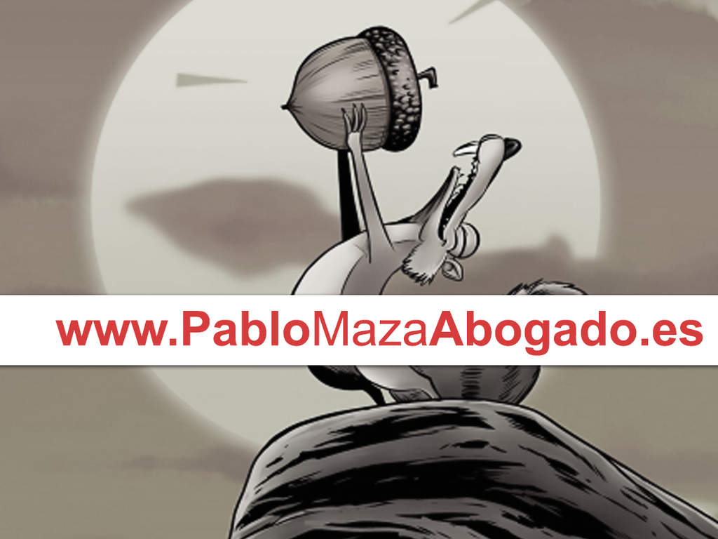 Utilizar imágenes de personajes en caricaturas o parodias