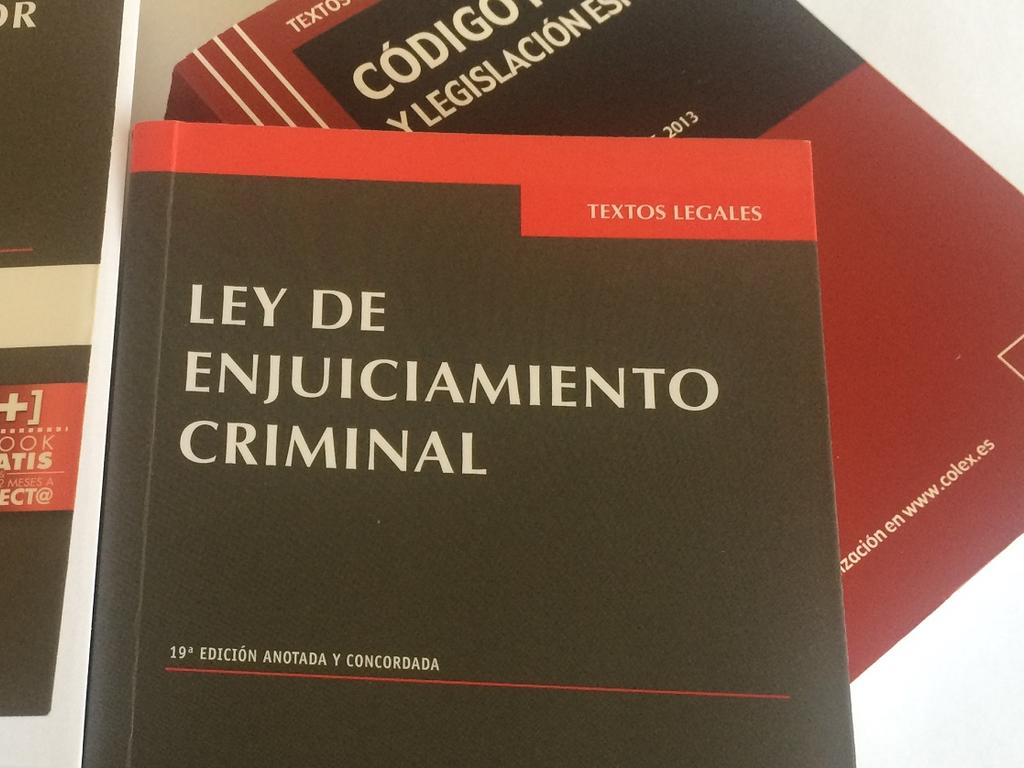 Plazos instrucción Ley Enjuiciamiento Criminal