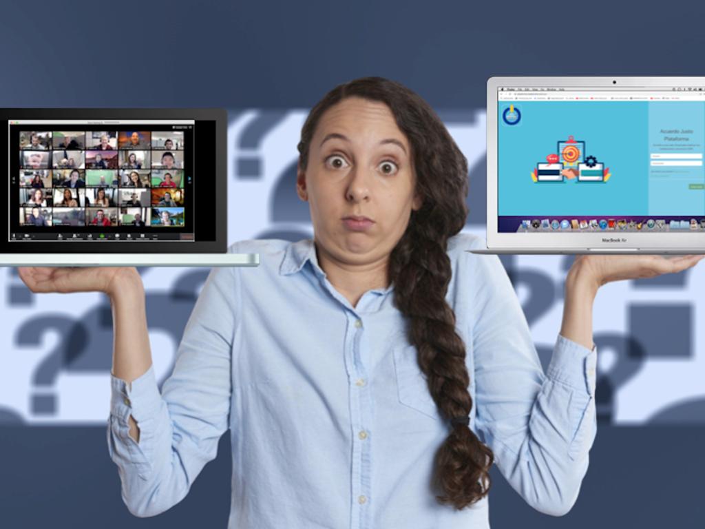Una videoconferencia no es una mediación online: se puede decir más alto pero no más claro