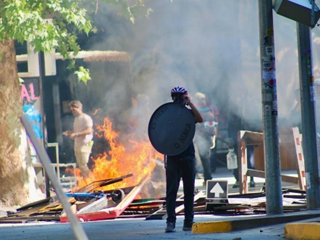 Hasta 600.000 euros de multa por cometer actos vandálicos en la calle