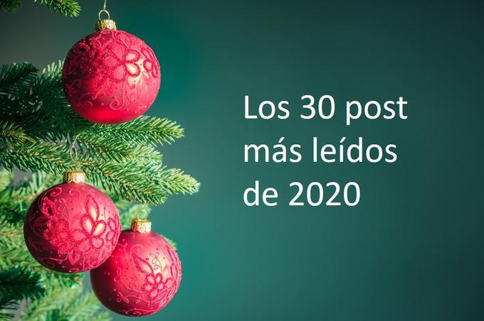 Los Top-30, los post más leídos del 2020 en lawandtrends.com