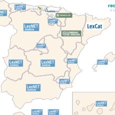 Diferencias por comunidades también en la Justicia: 6 herramientas de notificaciones con los juzgados diferentes en España