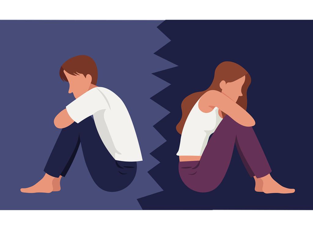 La separación en parejas de hecho