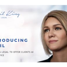 April King Legal contrata a Amelia como su asistente legal de inteligencia artificial para atender a sus clientes