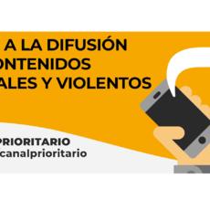'Lo paras o lo pasas', nueva iniciativa de la AEPD para fomentar el uso del Canal Prioritario para denunciar la difusión de contenidos sexuales o violentos