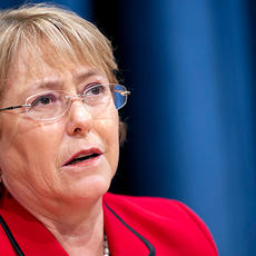 """Michelle Bachelet: La educación en derechos humanos debe ser tratada como una inversión en nuestro futuro"""""""