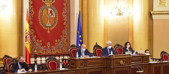 Campo comparece en el Senado para presentar el proyecto Justicia 2030