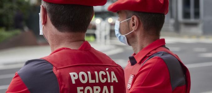 Publicada la Carta de Servicios de la Policía Foral para actuar contra la violencia hacia las mujeres
