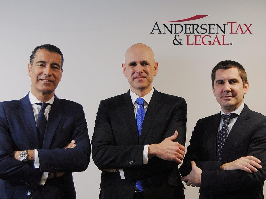Andersen Tax & Legal debuta en España