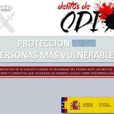 Interior presenta el Informe 2016 sobre Incidentes relacionados con los Delitos de Odio en España
