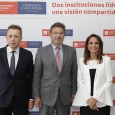 Catalá inaugura el curso académico de la Escuela de Abogados de la UE y Cremades & Calvo-Sotelo