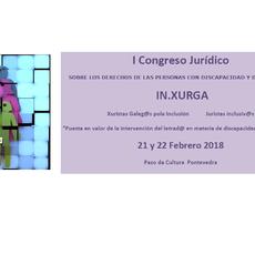 20 ponentes 20 horas. Congreso sobre los derechos de las personas con discapacidad y dependencia. 21 y 22 febrero 2018