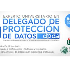Udima presenta una nueva convocatoria del curso formativo de Experto en Delegado Protección de Datos para la certificación de DPO-DPD