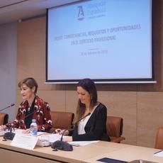 """Victoria Ortega, sobre el Brexit: La abogacía es clave para crear un marco de seguridad jurídica"""""""