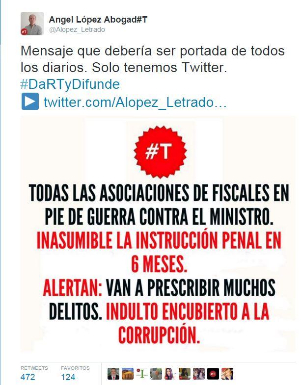 instrucción penal tweet2