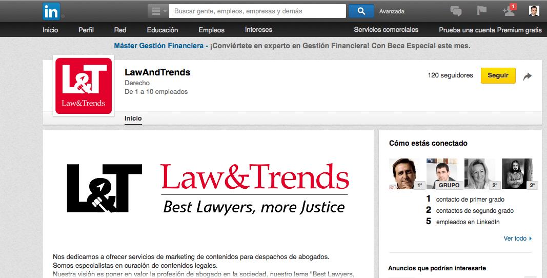 linkedin Law&Trends